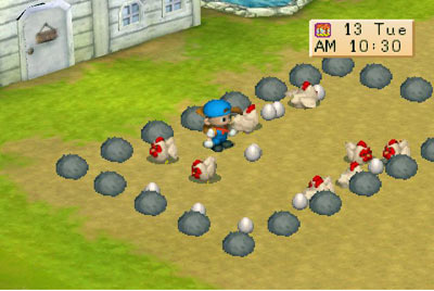 Screenshot from Harvest Moon